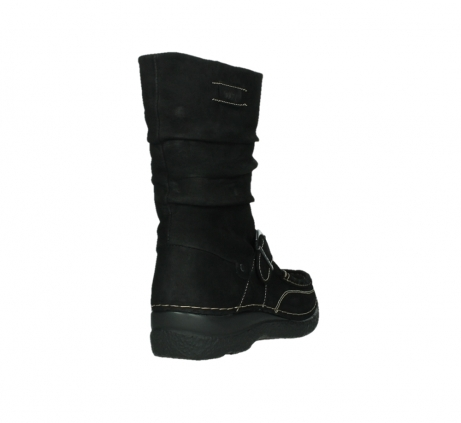 wolky mid calf boots 06267 roll jacky 50000 black oiled leather_21