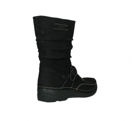 wolky mid calf boots 06267 roll jacky 50000 black oiled leather_22