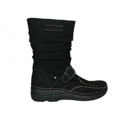 wolky mid calf boots 06267 roll jacky 50000 black oiled leather_24