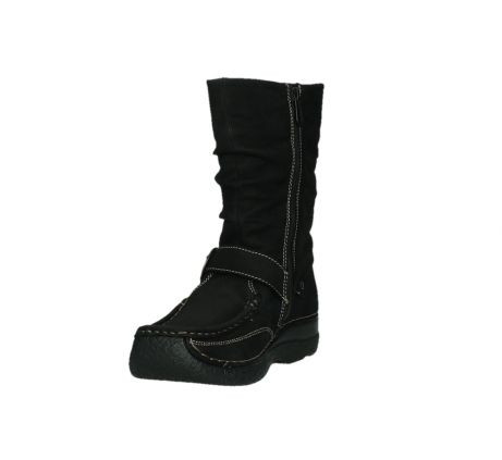 wolky mid calf boots 06267 roll jacky 50000 black oiled leather_9