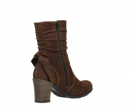 wolky mid calf boots 07750 cara 13410 tabaccobrown nubuckleather_10