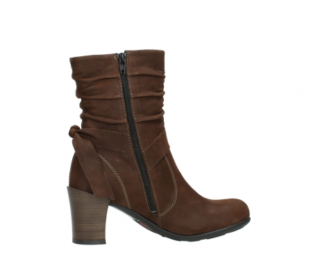 wolky mid calf boots 07750 cara 13410 tabaccobrown nubuckleather_12