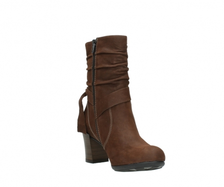 wolky mid calf boots 07750 cara 13410 tabaccobrown nubuckleather_17