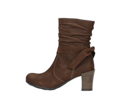 wolky mid calf boots 07750 cara 13410 tabaccobrown nubuckleather_2