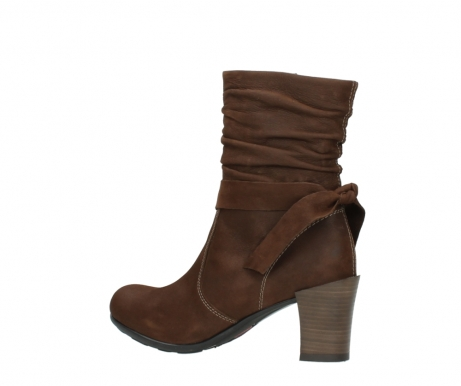 wolky mid calf boots 07750 cara 13410 tabaccobrown nubuckleather_3