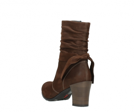 wolky mid calf boots 07750 cara 13410 tabaccobrown nubuckleather_5