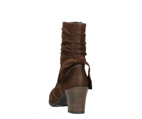 wolky mid calf boots 07750 cara 13410 tabaccobrown nubuckleather_6