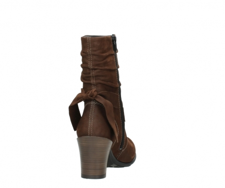 wolky mid calf boots 07750 cara 13410 tabaccobrown nubuckleather_8