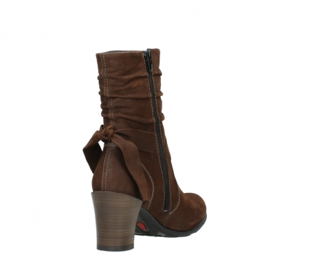 wolky mid calf boots 07750 cara 13410 tabaccobrown nubuckleather_9