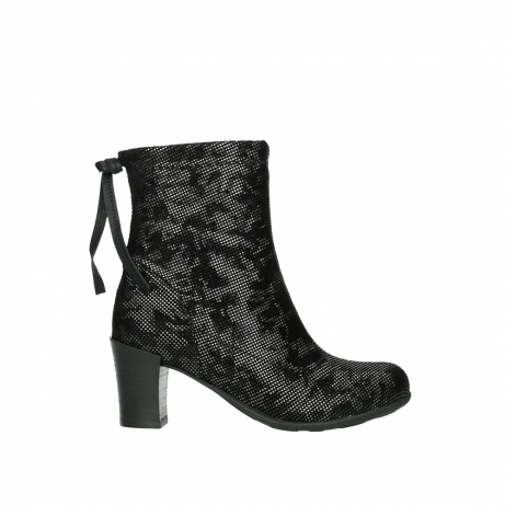 wolky mid calf boots 07751 cardinale 47210 anthracite suede