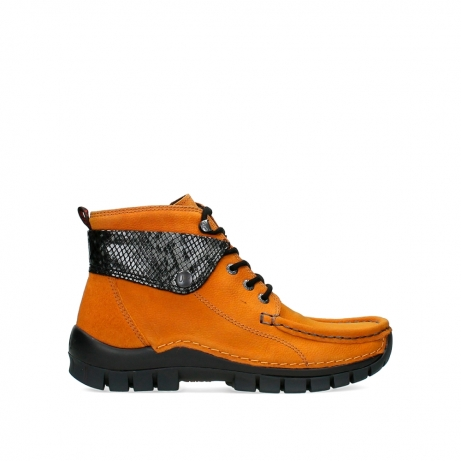wolky lace up boots 04725 jump winter 19924 ochre nubuck