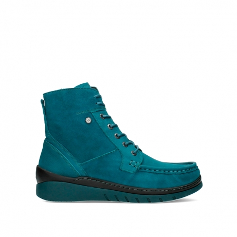 wolky lace up boots 04855 next 11880 petrol nubuck
