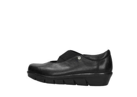 wolky slipons 00665 cursa 50000 black leather_2