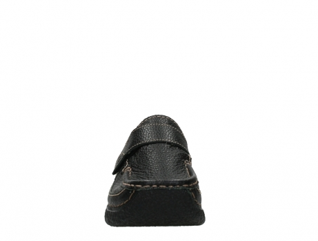 wolky slipons 06221 roll strap 70000 black printed leather_7