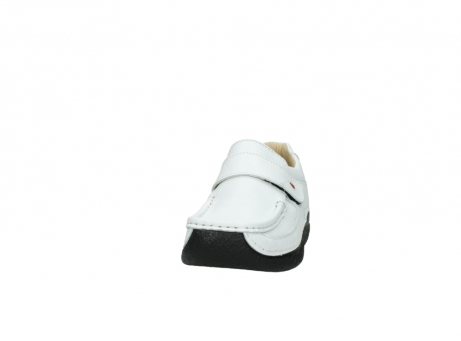 wolky slipons 06221 roll strap 70100 white printed leather_20