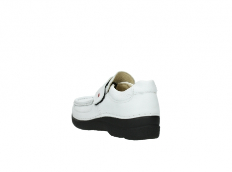 wolky slipons 06221 roll strap 70100 white printed leather_5