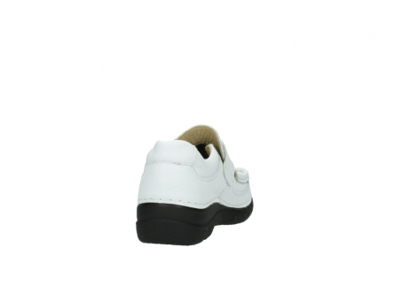 wolky slipons 06221 roll strap 70100 white printed leather_8