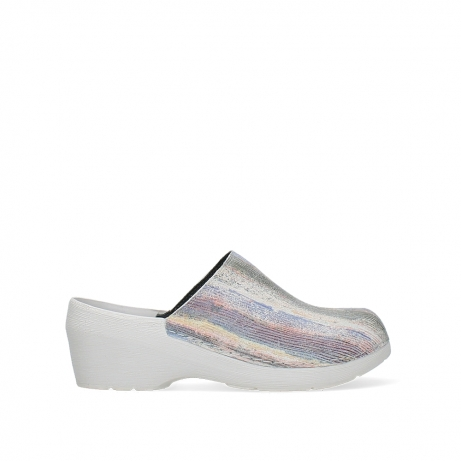 wolky clogs 06075 pro clog 43910 multi white suede