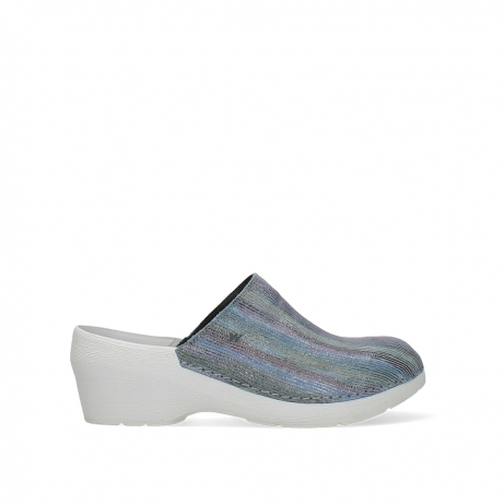 wolky clogs 06075 pro clog 43984 multi jeans suede