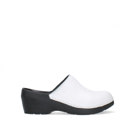 wolky clogs 06075 pro clog 70100 white leather
