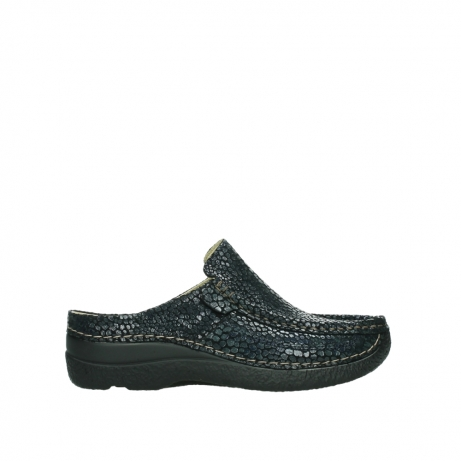 wolky slippers 06202 roll slide 44800 blue suede