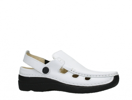 wolky clogs 06220 roll multi 70100 white printed leather_2