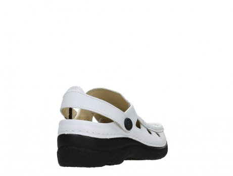 wolky clogs 06220 roll multi 70100 white printed leather_21