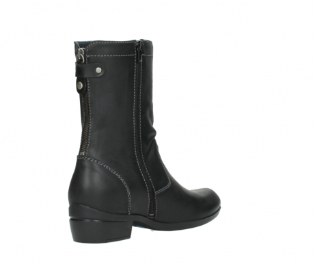 wolky boots 00957 colusa 50002 black leather_10