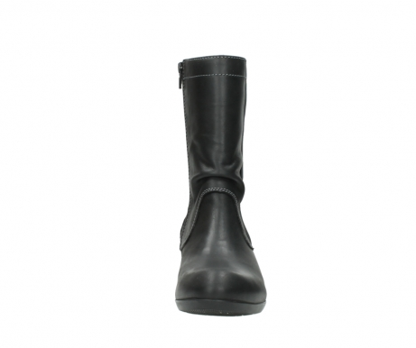 wolky boots 00957 colusa 50002 black leather_19