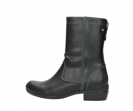 wolky boots 00957 colusa 50002 black leather_2
