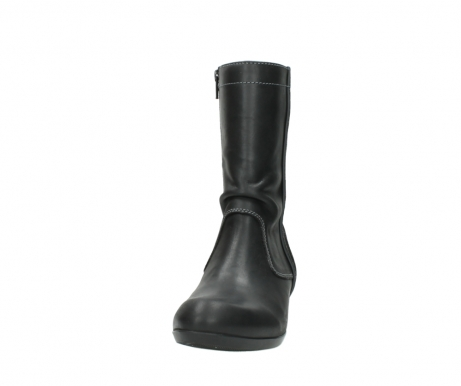 wolky boots 00957 colusa 50002 black leather_20