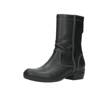wolky boots 00957 colusa 50002 black leather_23