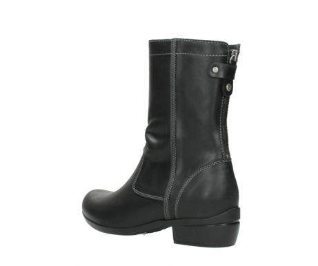 wolky boots 00957 colusa 50002 black leather_4