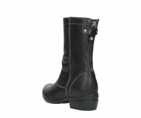 wolky boots 00957 colusa 50002 black leather_5