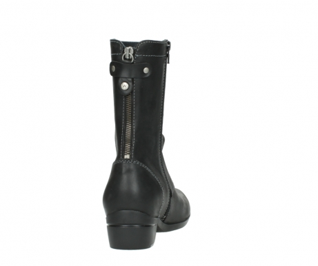 wolky boots 00957 colusa 50002 black leather_8