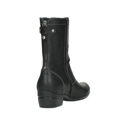 wolky boots 00957 colusa 50002 black leather_9