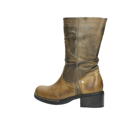 wolky mid calf boots 01261 edmonton 39920 ocher yellow leather_3