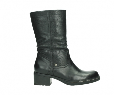 wolky mid calf boots 01261 edmonton 39000 black leather_1
