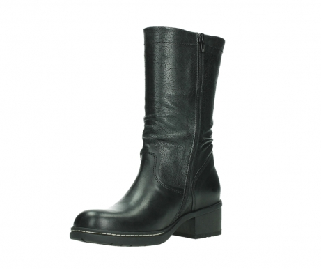 wolky mid calf boots 01261 edmonton 39000 black leather_10