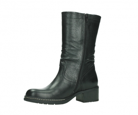 wolky mid calf boots 01261 edmonton 39000 black leather_11
