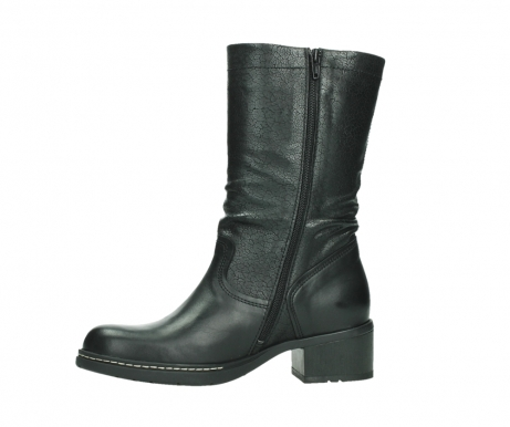 wolky mid calf boots 01261 edmonton 39000 black leather_12