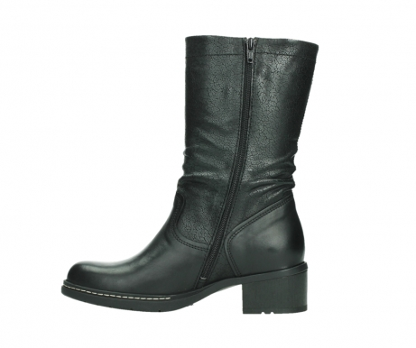 wolky mid calf boots 01261 edmonton 39000 black leather_13