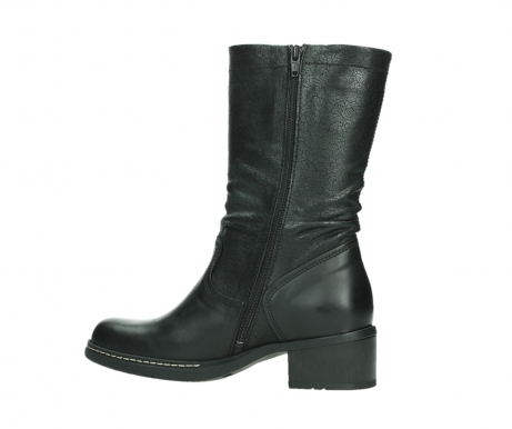 wolky mid calf boots 01261 edmonton 39000 black leather_14