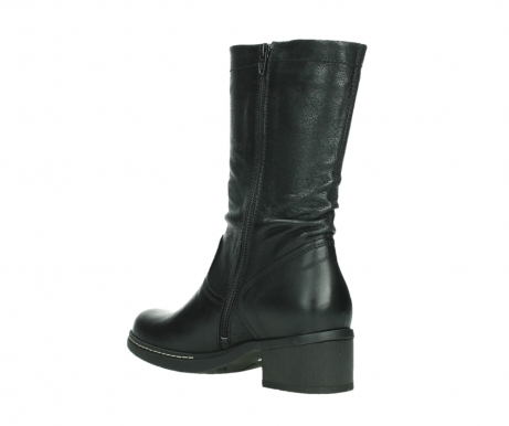 wolky mid calf boots 01261 edmonton 39000 black leather_16