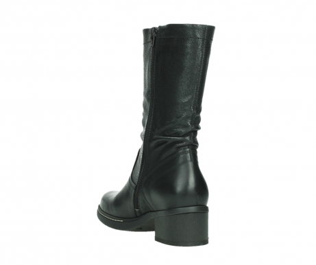 wolky mid calf boots 01261 edmonton 39000 black leather_17