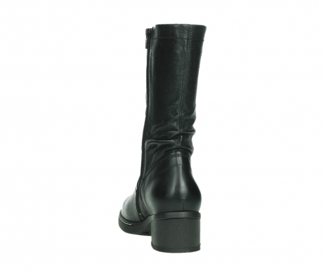 wolky mid calf boots 01261 edmonton 39000 black leather_18
