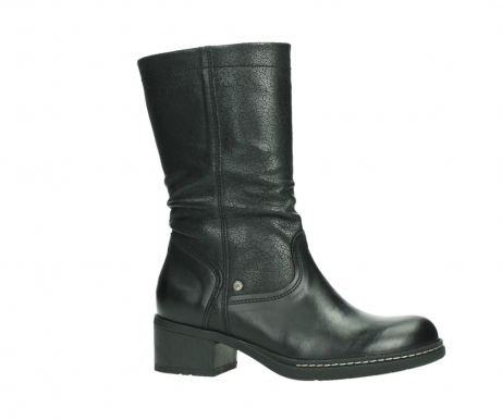wolky mid calf boots 01261 edmonton 39000 black leather_2
