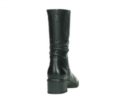 wolky mid calf boots 01261 edmonton 39000 black leather_20
