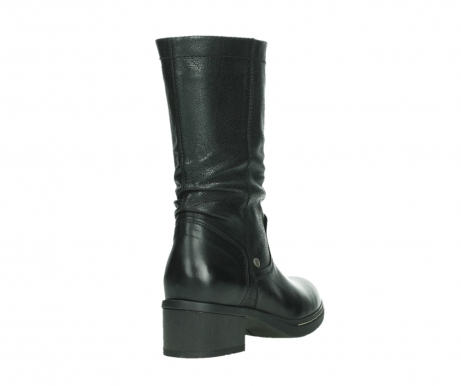 wolky mid calf boots 01261 edmonton 39000 black leather_21