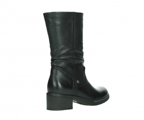 wolky mid calf boots 01261 edmonton 39000 black leather_22